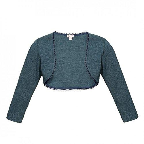 La-V Mädchen Bolero Jeans-Blau/Größe 128/134 (Jeans-kleid Mädchen-blaue)
