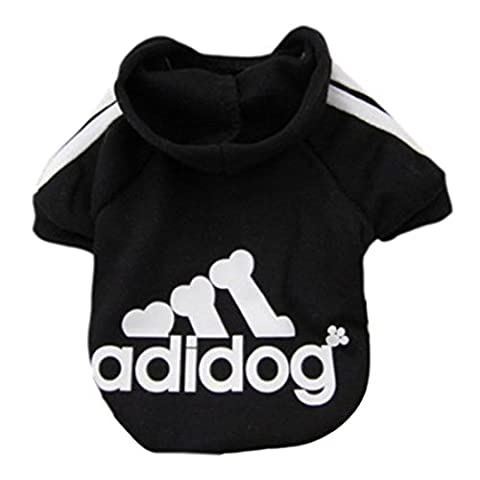 Idepet Spring Autumn Pet Dog Cat Clothes Coat Puppy Hoodie