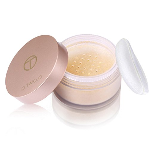 (Loses Pulver Öl kontrolle Gesichtspuder Soft Mat Make-up-Finishing-Pulver Transparent Loose Powder - Weiß, Teint Puder (Teint))