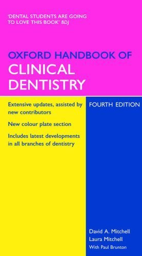 Oxford Handbook of Clinical Dentistry (Oxford Handbooks Series) by David A Mitchell (2004-11-25)