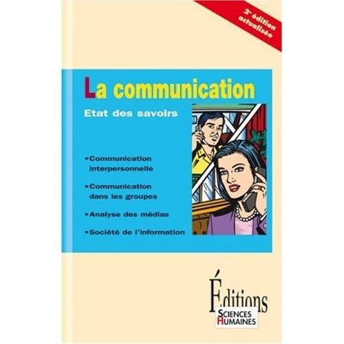 La communication : Etat des savoirs