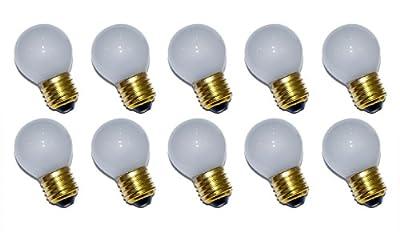 10 x Glühbirne Tropfen 40W E27 MATT Glühlampe 40 Watt Glühbirnen Glühlampen