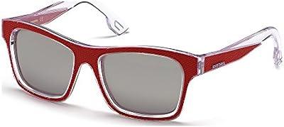 Gafas de sol Diesel DL0071 C55 68C (red/other / smoke mirror)