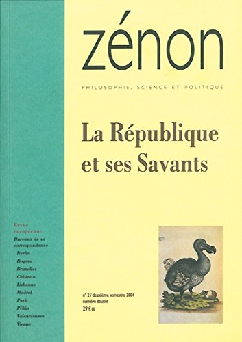 République et ses savants - Zénon Tome 2