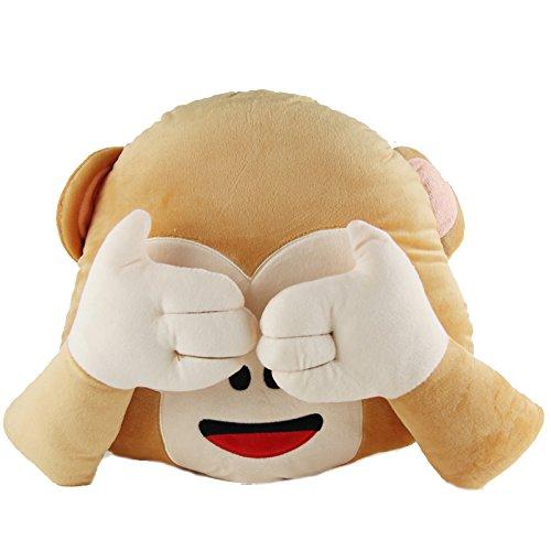 32cm-smile-emoti-cushion-monkey-smile-emoticon-brown-round-cushion-do-not-looking-pillow-stuffed-plu