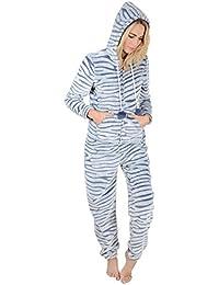 2cd17db5eba Autumn Faith Ladies Fleece All In One Piece Nightwear