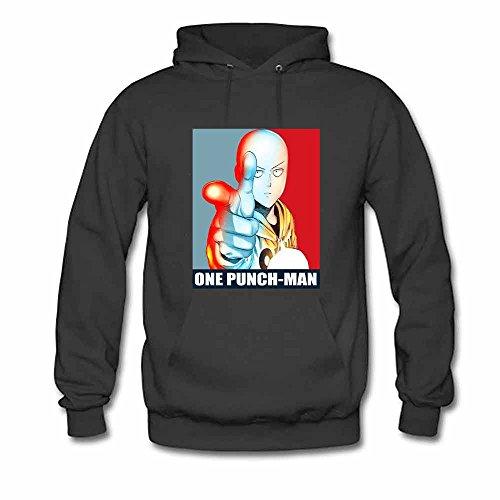 Men's Hooded Sweatshirt Saitama - One Punch Man Cotton Hoodie M