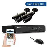Best Dvr Recorders - [TRUE 1080p HD] SANSCO 4 Channel 1080P DVR Review