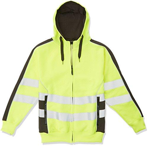 2 1718 M Größe Medium Corby Zip Sweatshirt Gelb Dunkel Anthrazit (Mascot-handschuhe)