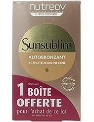 Nutreov Sunsublim Autobronzant Activateur Bonne Mine Lot de 2 x 28 Capsules