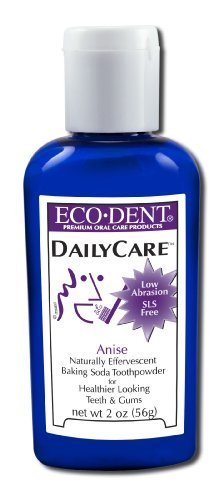 Toothpowder - Anise, 2 oz ( Multi-Pack) by Eco-Dent
