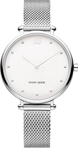 Danish Design Damen Analog Quarz Uhr mit Edelstahl Armband IV62Q1229