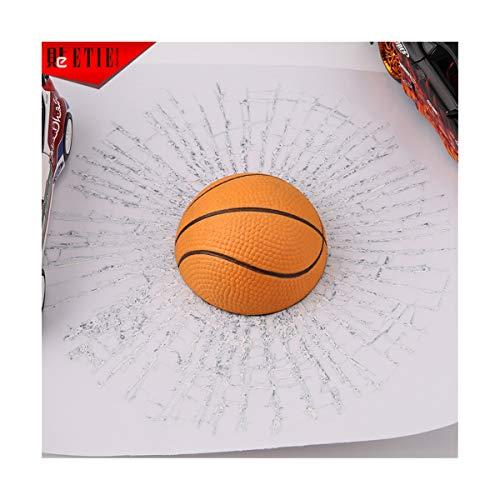BUY-TO Kreativ 3D Weihnachtsaufkleber Aufkleber Tennis Basketball Fußball Seite des Autos für Glas,Basketball