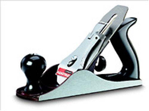 Stanley Handyman Putzhobel (250 mm Eisenlänge, glatte Sohle, geschliffene Seiten, Maulbreite Veränderbar) 1-12-204