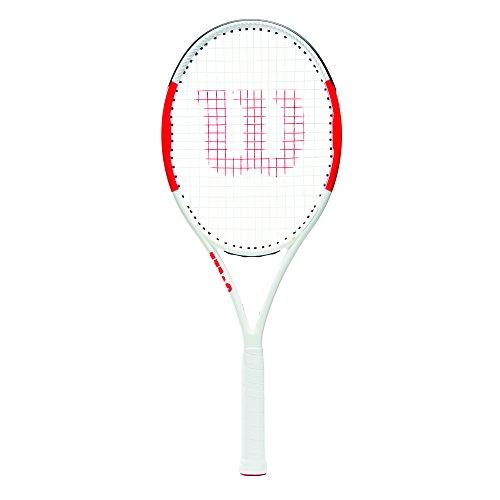 Wilson Raqueta de tenis unisex, Para principiantes y jugadores intermedios, Six.One Lite 102, Medida 2
