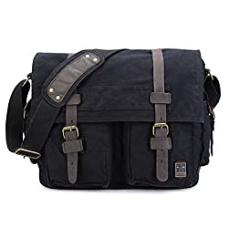 sulandy , Herren Schultertasche L black(medium)