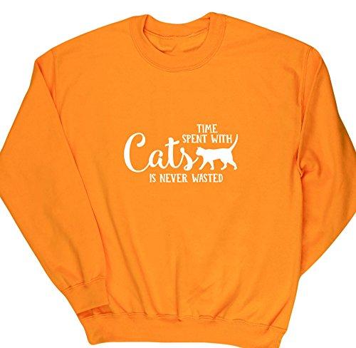 HippoWarehouse Herren Sweatshirt Gr. Small, (Crazy Pullover Ideen Christmas)