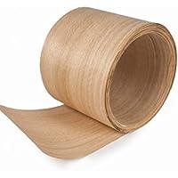 Chapa de madera de haya. 4 piezas de 48cm x 25cm. Espesor 0,6mm.