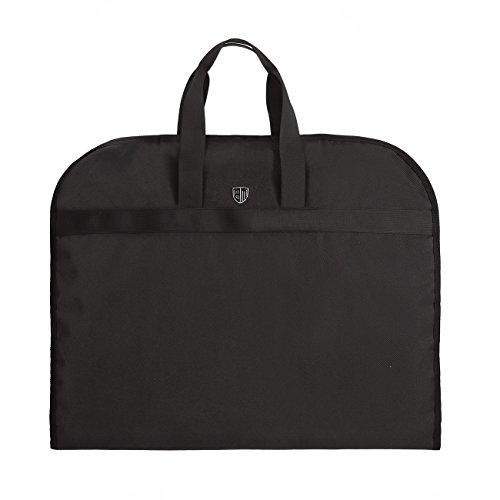BAGSMART Anzugtasche Nylon leichte Kleidersack mit Tragegriffen Schutzhülle Faltbare Kleiderschutzhülle Magnetverschlüsse