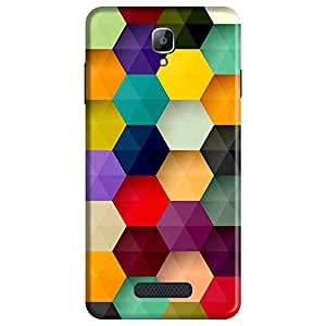 Mobo Monkey Designer Printed Back Case Cover for Oppo Neo 5 :: Oppo A31 :: Oppo Neo 5S 2015 (Texture :: Pixel :: Patterns :: Polygon :: Geometric)