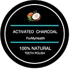 Activated Charcoal Teeth Polvere Carbone attivo Whitening Powder 100% Coconut Charcoal Active Coco Teeth Whitening Booster Sbiancamento denti con carbone attivo dentifricio con carbone attivo immagine