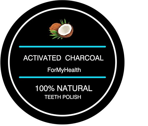 Activated Charcoal Teeth Polvere Carbone attivo Whitening