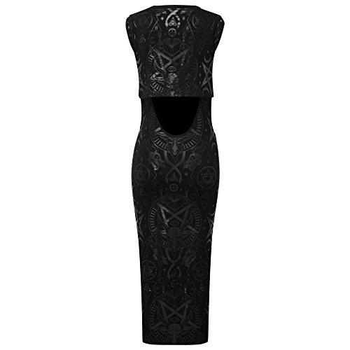Killstar - Robe - Moulante - Femme Noir