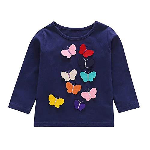43f03e73e Girl butterfly tee le meilleur prix dans Amazon SaveMoney.es