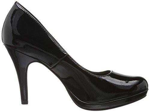 Tamaris Women 22417 Pumps Black (black Patent 018)