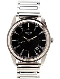 Traser H3 Reloj los Hombres Classic Translucent Black 102349