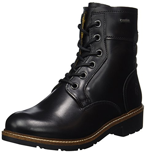 FLY London Damen Gore-Tex SILO050FLY Stiefel, Schwarz (Black), 40 EU (Side Zip Stiefel Black)