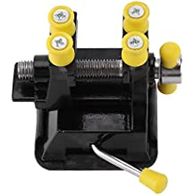 Mini Vise con Ventosa y Clavos para Joyería Artesanía Reparación