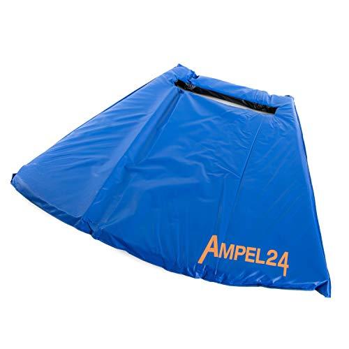 Ampel 24 Trampolin Fußmatte mit Aussparung für die Einstiegsleiter