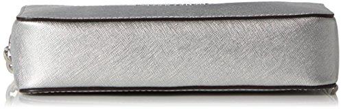 Michael Kors Crossbodies - Borse a spalla Donna, Silber (Silver), 5 x 12.5 x 21.5 cm