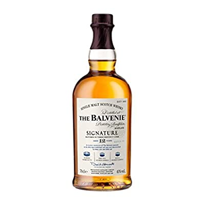 The Balvenie Signature 12 Year Old Single Malt Scotch Whisky (4 x 70cl Bottles)