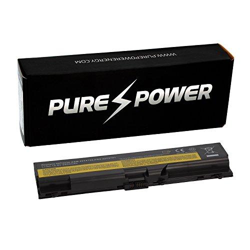 Preisvergleich Produktbild PUREPOWER® Laptop Akku für Lenovo ThinkPad T510 4384-5CU (10.8V, 4400 mAh, schwarz, 6 Zellen)