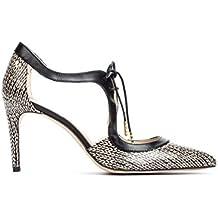 Martinelli Navia, Zapatos de Tacón con Punta Cerrada para Mujer, Beige (Beige 1271