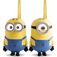 Minions 375048 - Set de 2 walkie talkies (IMC Toys 375048) - Walkie Talkie, Juguetes Figura A Partir de 6 años