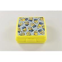Tupperware to go Sandwich de caja Amarillo Minions Pan Caja Escuela Pause Pan Depósito 17004