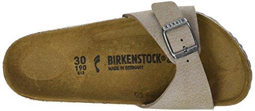 Birkenstock - Madrid, Zoccoli Bambina Beige (Desert Soil Taupe / Ls Grey)