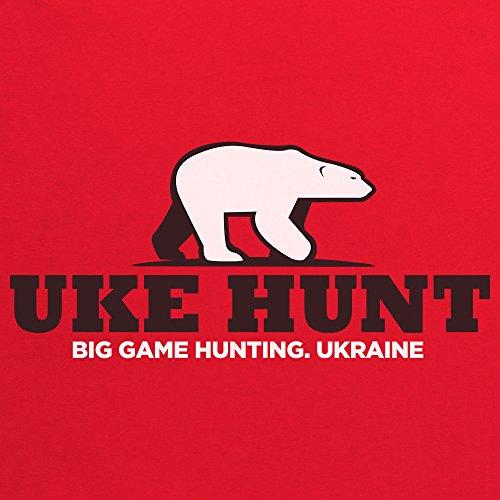 General Tee Uke Hunt T-Shirt, Herren Rot