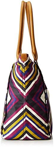 Kipling Life Saver, Shopper Femmes, 45x32x20 cm Multicolore (REF33L Boho Fest)