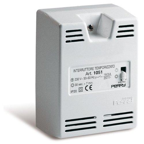 Interruttore temporizzato per scale da parete Perry-1IT1051 Interruttore temporizzato elettronico p