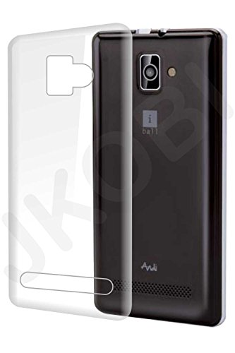 Exclusive Soft Silicone TPU Jelly Transparent Crystal Clear Case Soft Back Case Cover For iBall Andi 4 B20 B 20  available at amazon for Rs.190