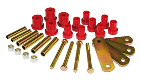 Prothane 4-1012 Red Rear Spring and Shackle Bushing by Prothane