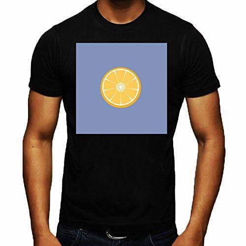 t-shirt-nero-girocollo-uomo-taglia-l-arance-by-ilovecotton