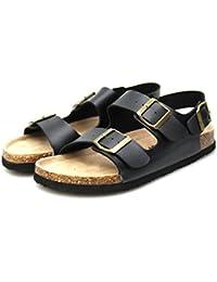 Minitoo - Sandalias con cuña hombre , color Amarillo, talla 41.5