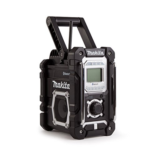Preisvergleich Produktbild Makita DMR 108 ZB 7,2 - 18 V Akku Baustellen Radio mit Bluetooth Schwarz Solo - ohne Akkus und Ladegerät