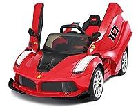 realizzare il sogno di ogni bambino che vuole andare in giro nel proprio veicolo con la licenza ufficiale Ferrari laferrari per bambini per bambini e bambini con telecomando parentale. Questo Cool Sport Edition Ride on offre un' autentica esperienza ...