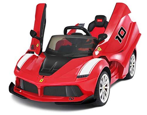 Ricco 2019 La Ferrari Fxxk - Coche eléctrico con Mando a Distancia...